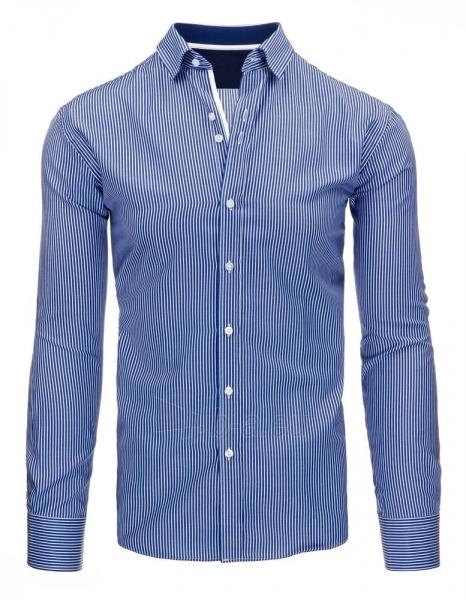 Vyriški marškiniai Kem (tamsiai mėlyni) Paveikslėlis 1 iš 3 310820046765
