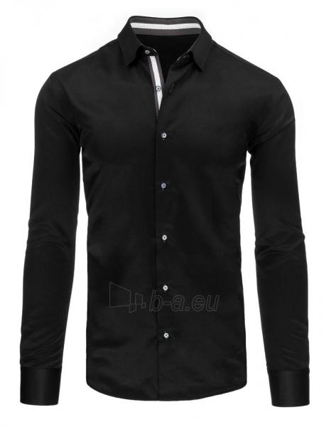 Vyriški marškiniai Kevin (juodi) Paveikslėlis 1 iš 2 310820046617
