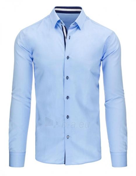 Vyriški marškiniai Kevin (mėlyni) Paveikslėlis 1 iš 2 310820046618