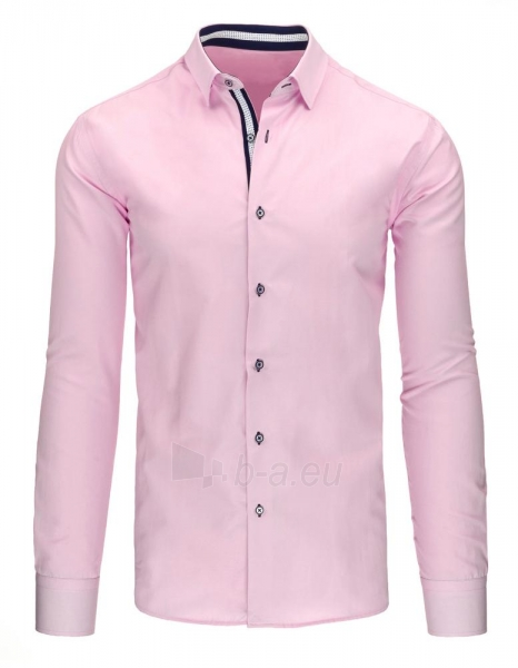 Vyriški marškiniai Kevin (rožiniai) Paveikslėlis 1 iš 2 310820046615