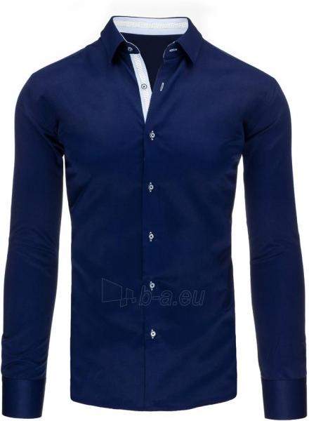 Vyriški marškiniai Kevin (tamsiai mėlyni) Paveikslėlis 1 iš 2 310820046616