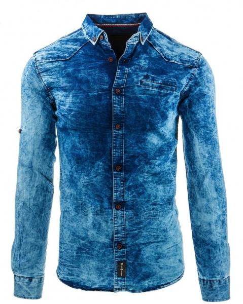 Vyriški marškiniai Lind (Mėlyni) Paveikslėlis 1 iš 2 310820034569
