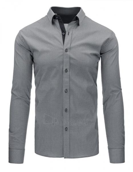 Vyriški marškiniai Lyndi (pilki) Paveikslėlis 1 iš 3 310820046593
