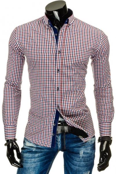 Vyriški marškiniai Lyndon ((bordinės spalvos)) Paveikslėlis 1 iš 6 310820034680