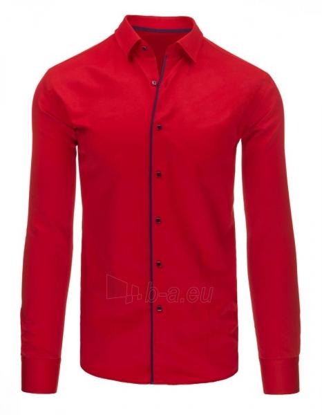 Vyriški marškiniai Masha (raudoni) Paveikslėlis 1 iš 2 310820046587