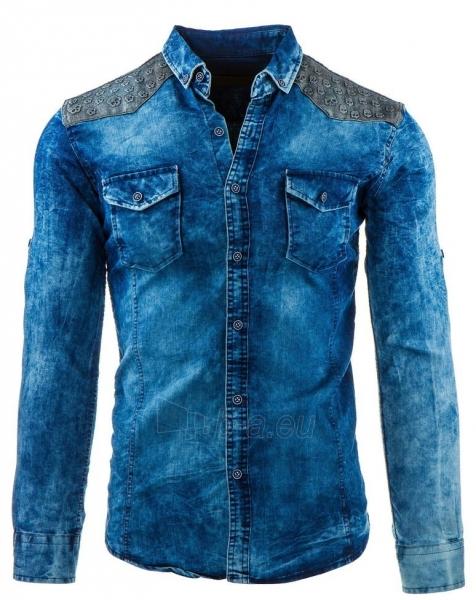 Vyriški marškiniai Ritzville (Mėlyni) Paveikslėlis 1 iš 2 310820034574