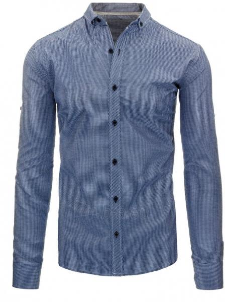 Vyriški marškiniai Tamim (mėlynos spalvos) Paveikslėlis 1 iš 3 310820043736
