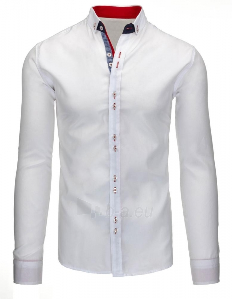 Vyriški marškiniai Teodor (baltos spalvos) Paveikslėlis 1 iš 3 310820043734