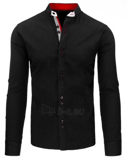 Vyriški marškiniai Teodor (juodos spalvos) Paveikslėlis 1 iš 2 310820043732