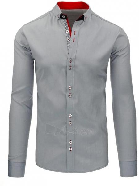 Vyriški marškiniai Teodor (pilkos spalvos) Paveikslėlis 1 iš 2 310820043735