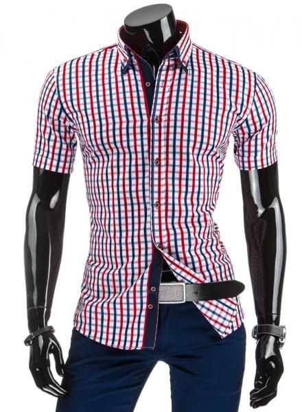 Vyriški marškiniai trumpomis rankovėmis Hally Paveikslėlis 1 iš 6 310820042350