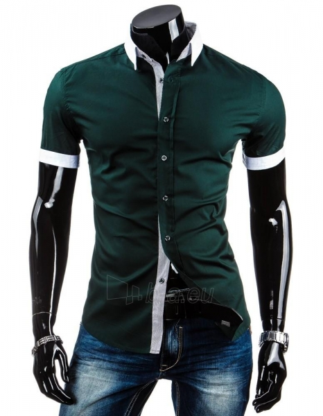 Vyriški marškiniai trumpomis rankovėmis Heather Paveikslėlis 1 iš 6 310820036871