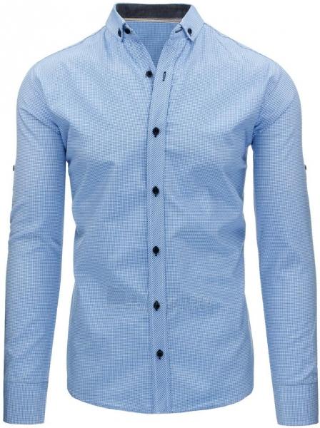 Vyriški marškiniai Vihan (mėlynos spalvos) Paveikslėlis 1 iš 3 310820043728