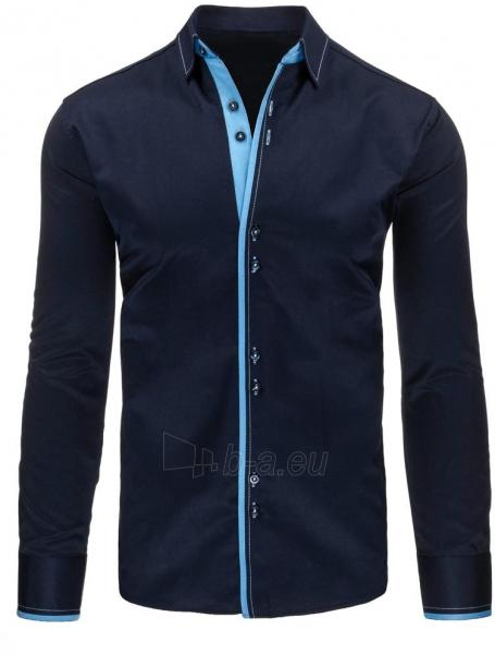 Vyriški marškiniai Vihan (tamsiai mėlynos spalvos) Paveikslėlis 1 iš 2 310820043729
