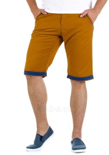 Vyriški šortai Abeje (karamelinės spalvos) Paveikslėlis 1 iš 6 310820032883