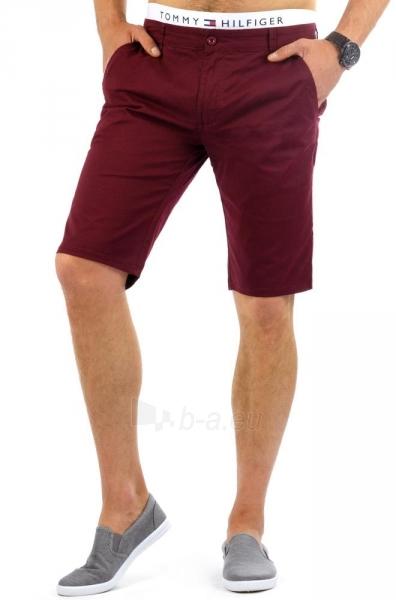 Vyriški šortai Mounds ((bordinės spalvos)) Paveikslėlis 1 iš 6 310820035414