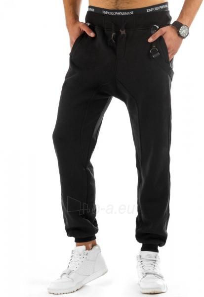 Vyriškos laisvalaikio kelnės Ason (juodos) Paveikslėlis 1 iš 6 310820047354