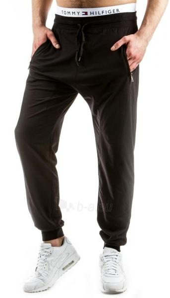 Vyriškos laisvalaikio kelnės Cimarron (Juodos) Paveikslėlis 1 iš 6 310820032289