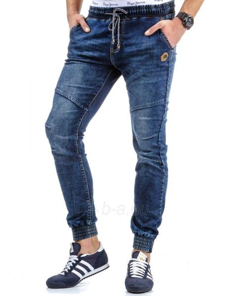 Vyriškos laisvalaikio kelnės Diboll (Mėlynos) Paveikslėlis 1 iš 6 310820031835