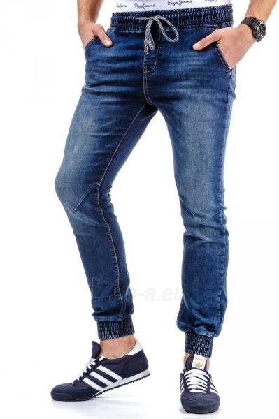 Vyriškos laisvalaikio kelnės Dime (Mėlynos) Paveikslėlis 1 iš 6 310820031836