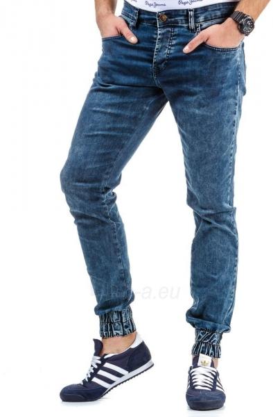 Vyriškos laisvalaikio kelnės Dimmitt (Mėlynos) Paveikslėlis 1 iš 6 310820031837