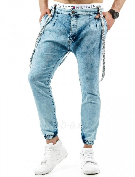 Vyriškos laisvalaikio kelnės Frank (Mėlynos) Paveikslėlis 1 iš 6 310820032797