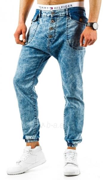 Vyriškos laisvalaikio kelnės Swant (Mėlynos) Paveikslėlis 1 iš 6 310820032795