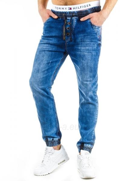 Vyriškos laisvalaikio kelnės Vernon (Mėlynos) Paveikslėlis 1 iš 6 310820032258