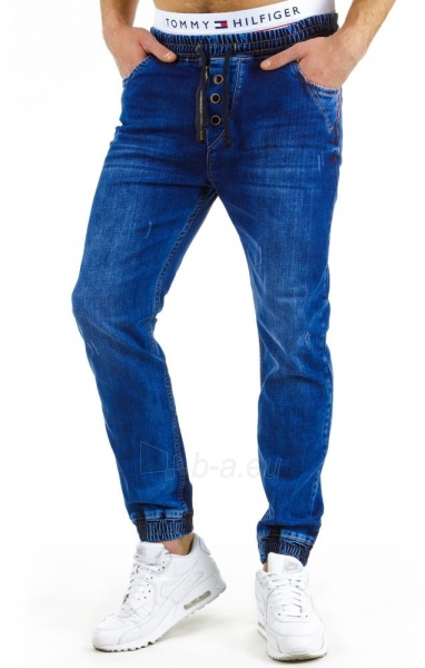 Vyriškos laisvalaikio kelnės Vernon (Tamsiai mėlynos) Paveikslėlis 1 iš 6 310820032257