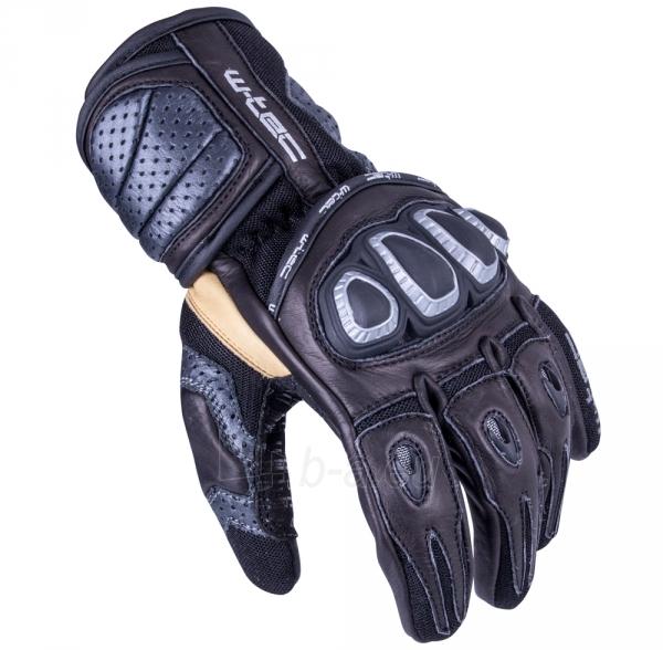 Vyriškos odinės moto pirštinės W-TEC Crushberg GID-16022 Paveikslėlis 1 iš 7 310820218052