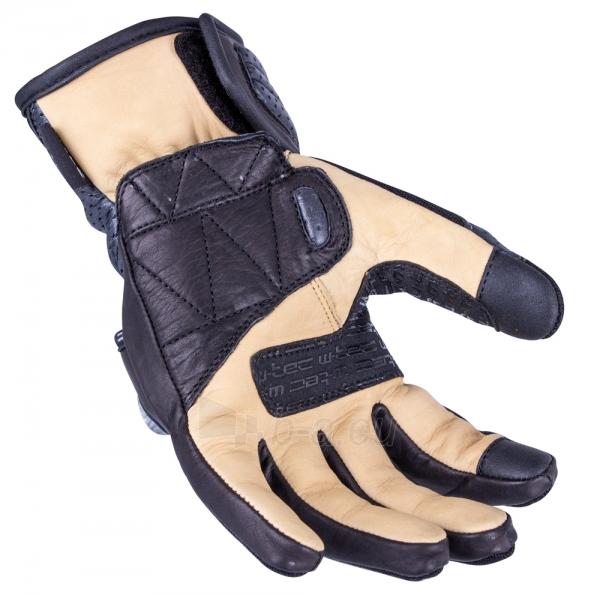 Vyriškos odinės moto pirštinės W-TEC Crushberg GID-16022 Paveikslėlis 4 iš 7 310820218052