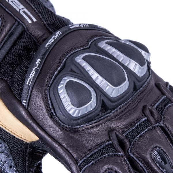 Vyriškos odinės moto pirštinės W-TEC Crushberg GID-16022 Paveikslėlis 5 iš 7 310820218052