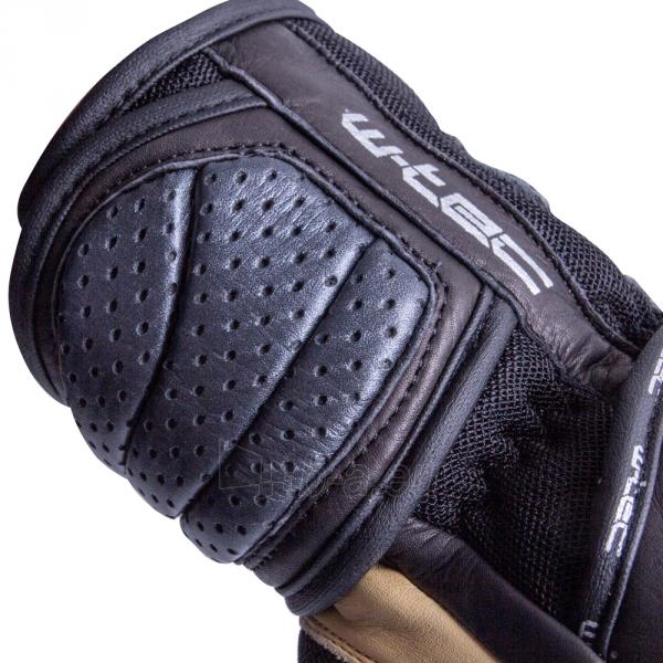 Vyriškos odinės moto pirštinės W-TEC Crushberg GID-16022 Paveikslėlis 6 iš 7 310820218052