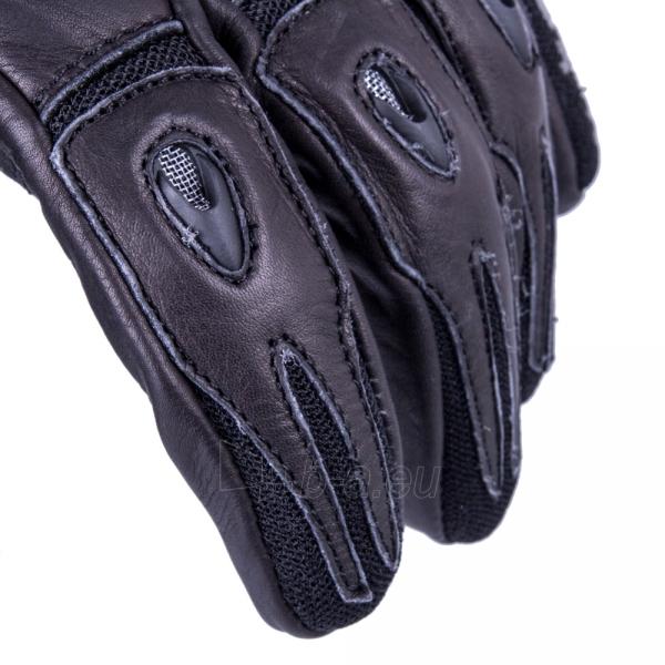 Vyriškos odinės moto pirštinės W-TEC Crushberg GID-16022 Paveikslėlis 7 iš 7 310820218052