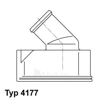 WAHLER termostatas, aušinimo skystis 4177.92D Paveikslėlis 1 iš 1 30119601783