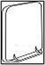 WAVIN kontrolinis prievamzdžio dangtelis 75 mm (ruda) Paveikslėlis 1 iš 1 237521300004