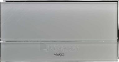 WC klavišas VISIGN FOR MORE 101 stiklas/šviesiai pilkas Paveikslėlis 1 iš 1 270790200069