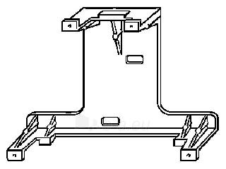 WC klavišo VIEGA laikiklis Paveikslėlis 1 iš 1 270790200089