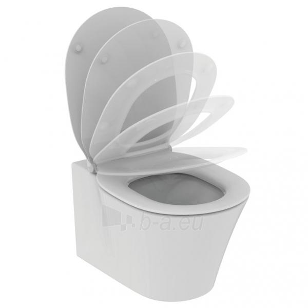 WC приостановлено Ideal Standard Connect, Air Aquablade, c paslėptais tvirtinimais Paveikslėlis 2 iš 4 310820163251