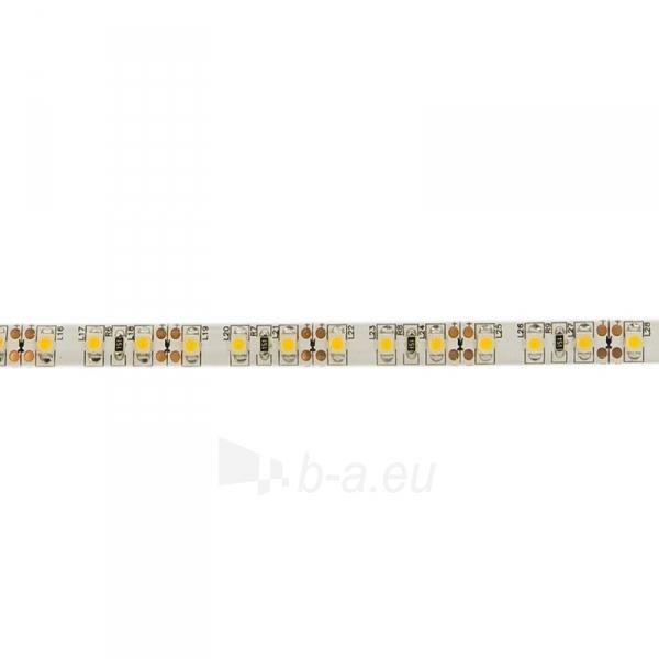 WE LED juosta 5m | 120vnt/m | 3528 | 9.6W/m | šilta balta | IP65 | be jungties Paveikslėlis 2 iš 4 224126000289