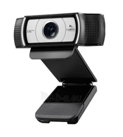Web kamera Logitech C930e, Full HD 1080p, Zoom 4X, Autofokusas Paveikslėlis 1 iš 2 250255220238