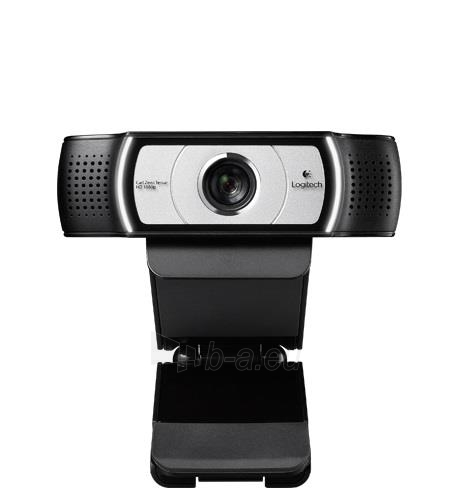 Web kamera Logitech C930e, Full HD 1080p, Zoom 4X, Autofokusas Paveikslėlis 2 iš 2 250255220238