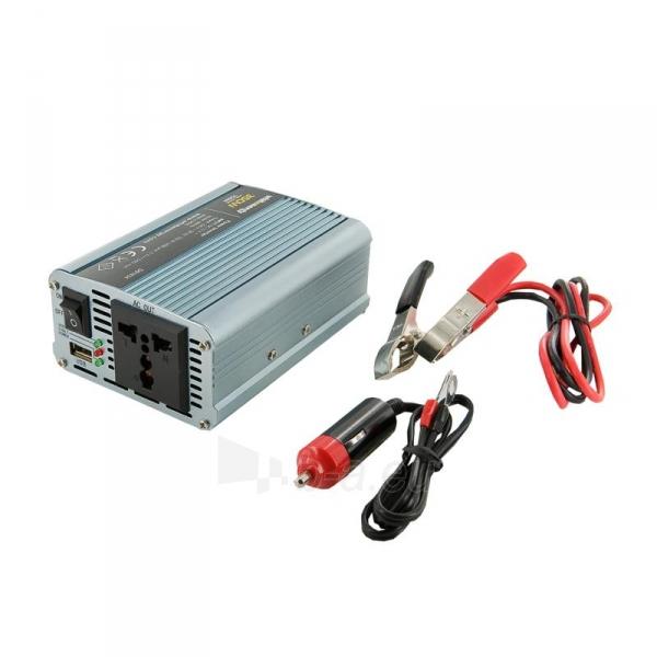 Whitenergy Inverteris AC/DC 12V (automobilis) 230V, 2000W, 2 lizdai Paveikslėlis 1 iš 2 250256401144