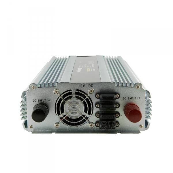 Whitenergy Inverteris AC/DC 12V (automobilis) 230V, 2000W, 2 lizdai Paveikslėlis 2 iš 2 250256401144