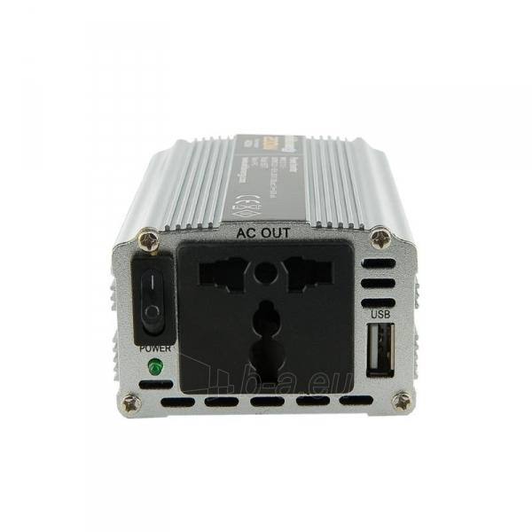 Whitenergy Inverteris AC/DC 12V (automobilis) 230V, 200W USB jungtis Paveikslėlis 2 iš 4 250256401145