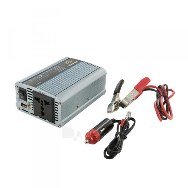 Whitenergy Inverteris AC/DC 12V (automobilis) 230V, 350W USB jungtis Paveikslėlis 1 iš 4 250256401146