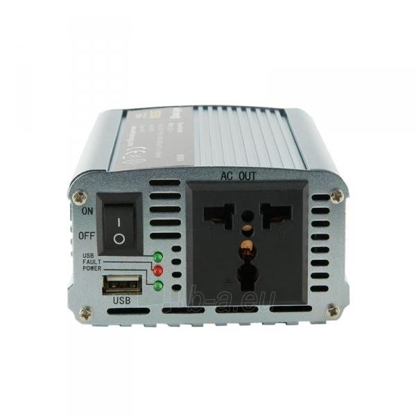 Whitenergy Inverteris AC/DC 12V (automobilis) 230V, 350W USB jungtis Paveikslėlis 2 iš 4 250256401146