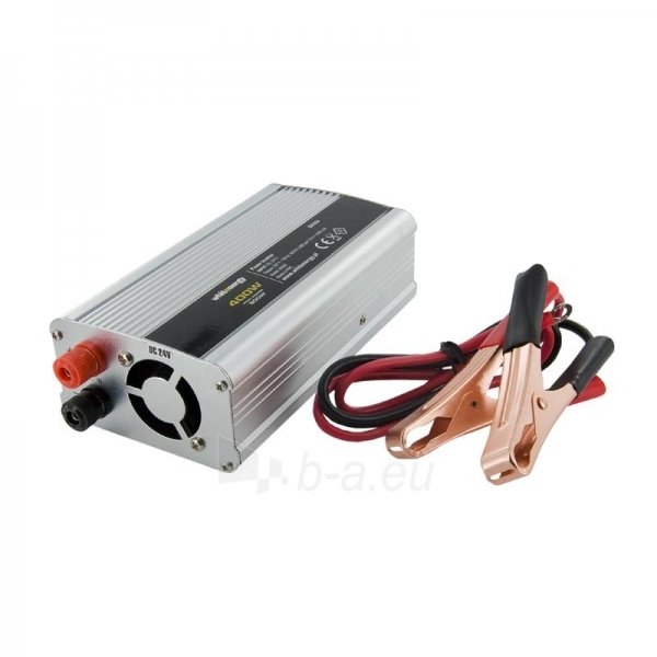 Whitenergy Inverteris AC/DC 24V (automobilis) 230V, 400W USB jungtis Paveikslėlis 1 iš 4 250256401155