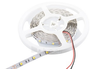 Whitenergy LED juosta 5m | 30vnt/m | 5050 | 7.2W/m | 12V DC | 3000K šilta balta Paveikslėlis 1 iš 4 310820049429