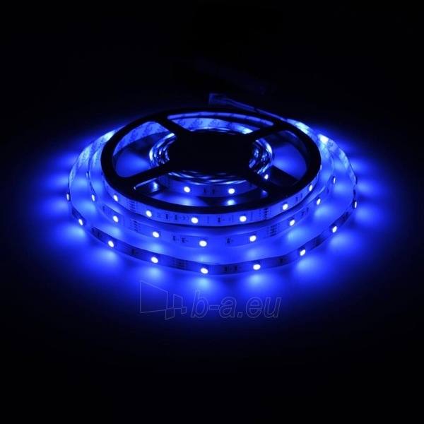 Whitenergy LED juosta 5m | 30vnt/m | 5050 | 7.2W/m | 12V DC | RGB | be jungties Paveikslėlis 4 iš 7 310820049438